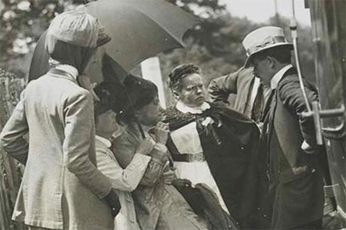 Catherine Pine, suffragette
