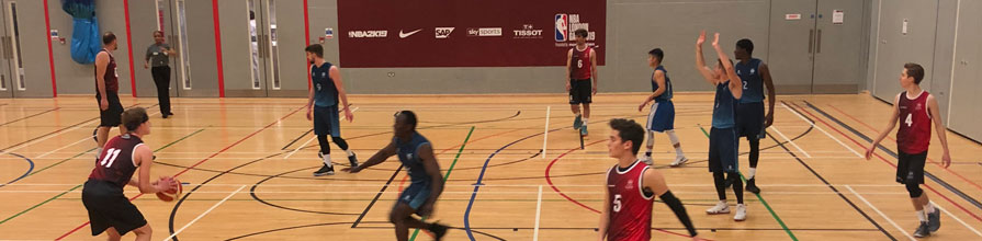 City Men's Basketball Team take the shot