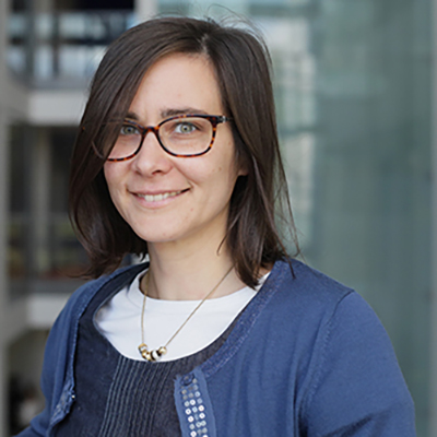 Gioia Caminada is International Officer: International students in the UK