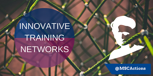 Marie Skłodowska-Curie Actions (MSCA) Innovative Training Networks logo