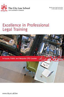Excellence in Professional Legal Training at City University London