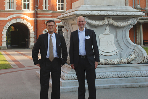 The organisation chairs - Gregory Slabaugh and Carlos Reyes