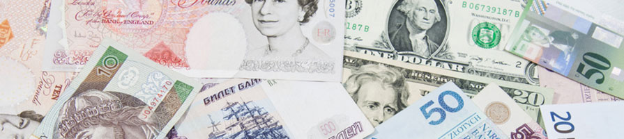 International banknotes