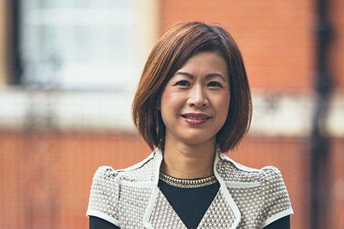 Ying Huang smiling