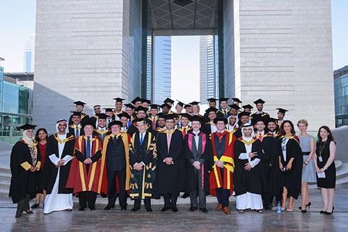 Dubai graduation