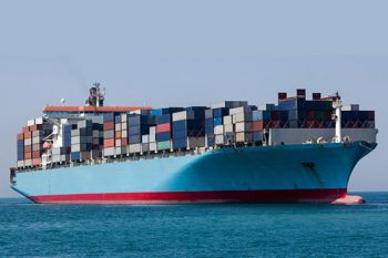 A TPP container ship