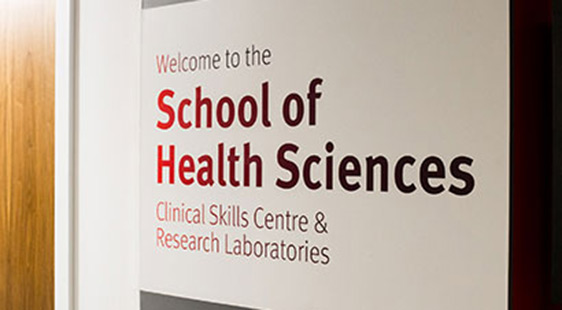 Welcome to the School of Health Sciences