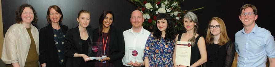 City University London Vice Chancellors awards 2016 winners