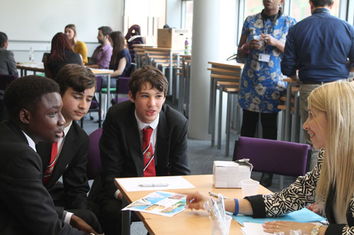 City Inspiring Young Minds students from local schools