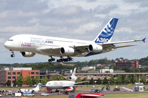 A380 Farnborough Airshow 2016