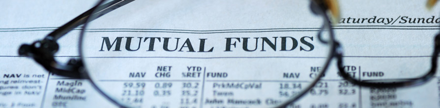 glasses focus on mutual fund investing