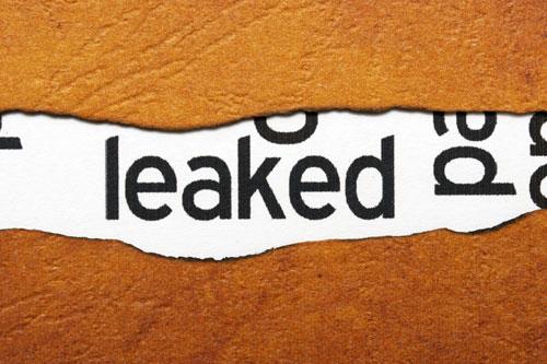 'leaked'