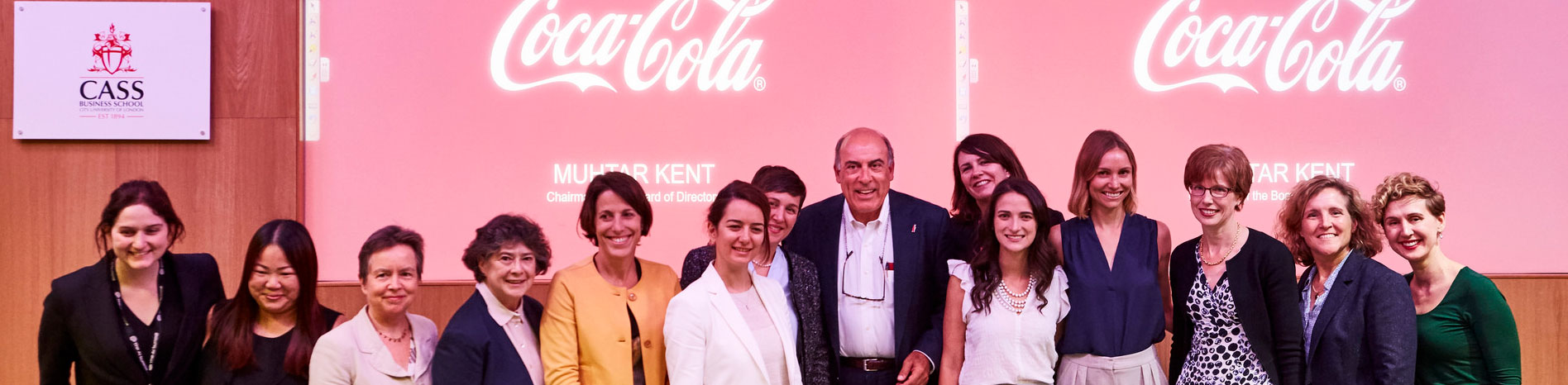 Muhtar Kent with Scholars and Executive Board of Cass Global Women's Programme
