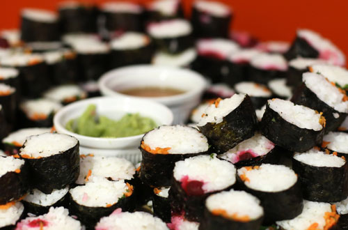 Sushi from International City Week