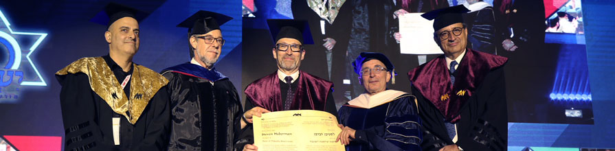 Steven Haberman receives honorary doctorate