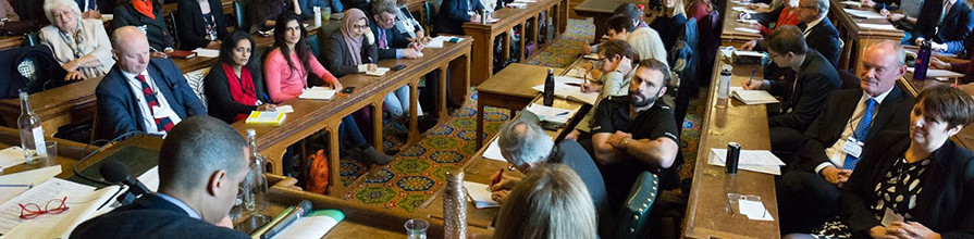 delegates at mindfulness APPG