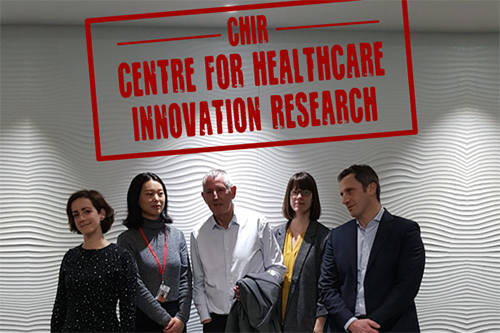Centre for Health Innovation Research holds first meeting