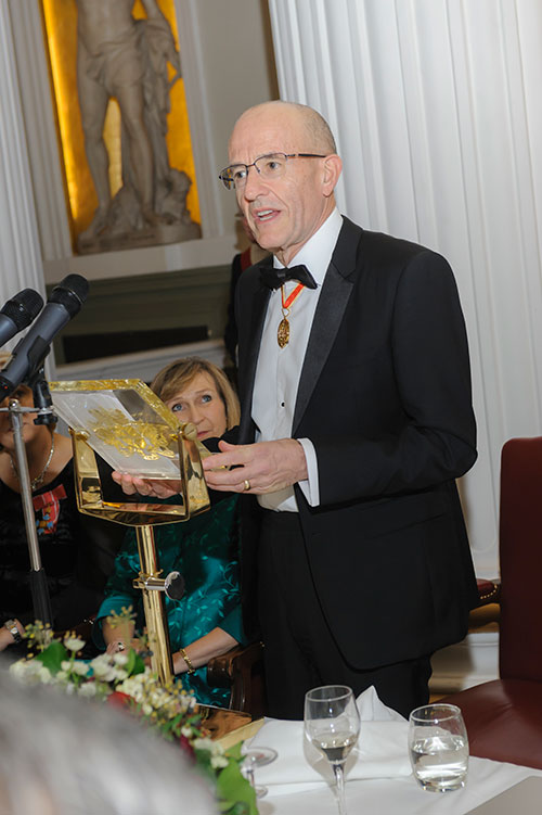 Guest at the City Rector's Dinner