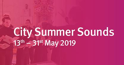 City Summer Sounds logo