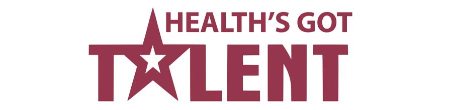 Health's got talent logo