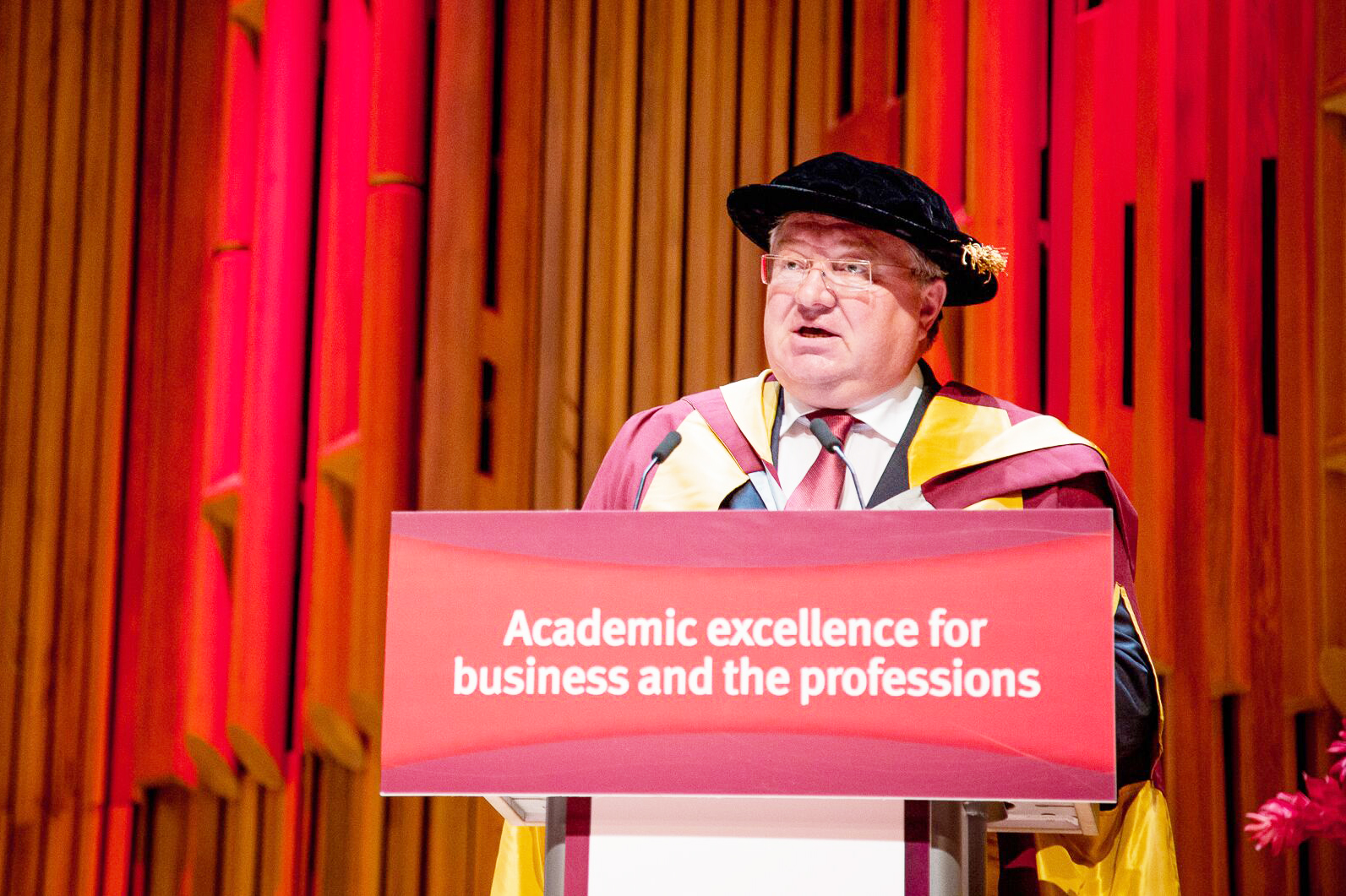 Professor Andrei Rudskoi receives honorary doctorate from City