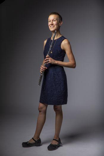 Flautist Molly Barth