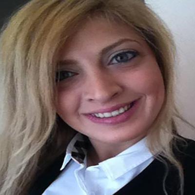 Christina Nicolaou smiling