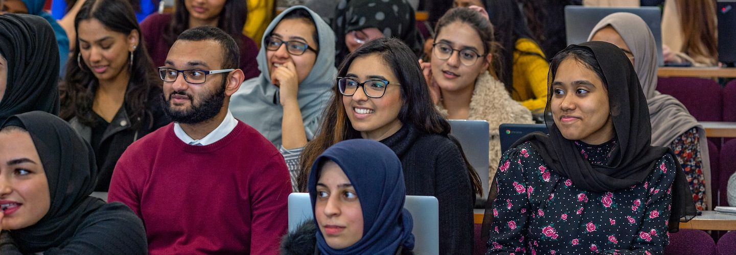 Students enjoying their lecture