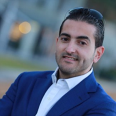 Alumni ambassador Mahmoud Barraj