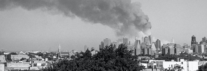 9/11 smoke viewed from Brooklyn