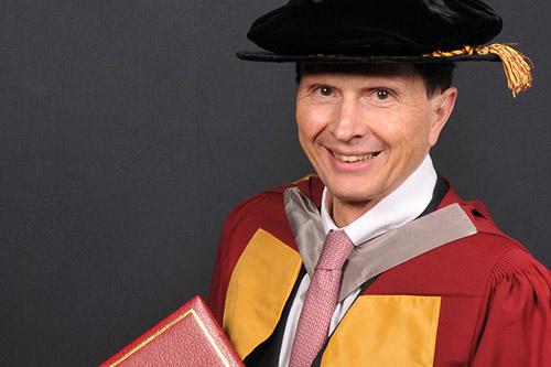 City University London honours Professor David Heymann CBE for his contribution to healthcare