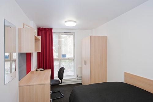Bedroom in Liberty Court