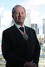 Rt Hon Lord Mayor of London 2014 to 2015 Alderman Alan Yarrow in the City of London