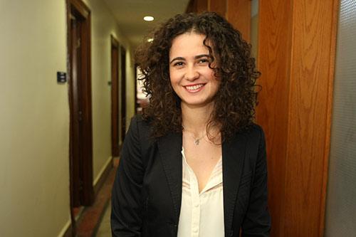 PhD student Pinar Canga