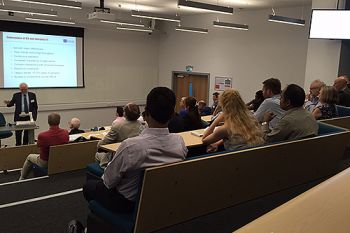Cyber Security lecture at City University London