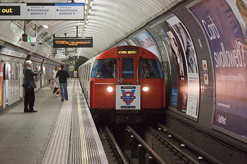 London Underground Driver testing