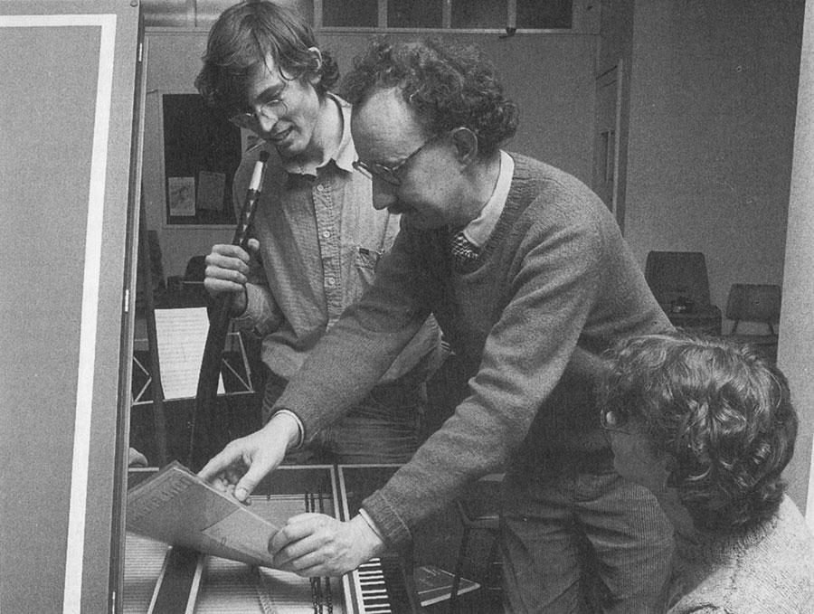 Richard Langham Smith, early music class, 1986