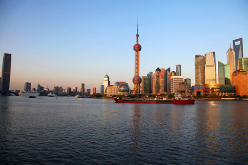Financial Journalism MA students visit Shanghai for annual summer school