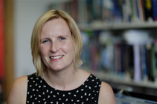 Senior Lecturer Emily Allbon