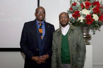 Two law school prize winners