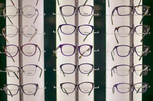 Various glasses at City Sight