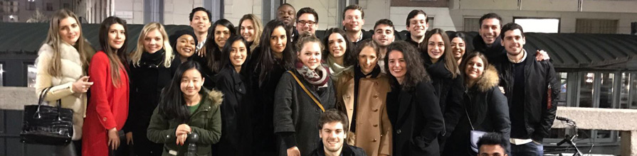 Cass MSc Management students in Milan