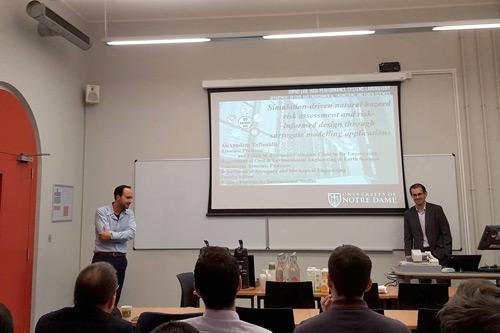 Dr Alexandros A. Taflanidisat the RCCES seminar