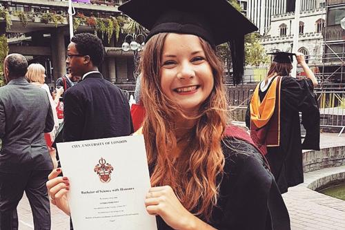 IPE Graduate - Sandra Sorensen