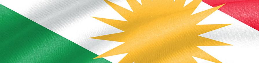 Iraqi Kurdistan flag