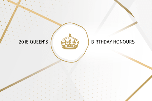 Queen's Birthday Honours 2018