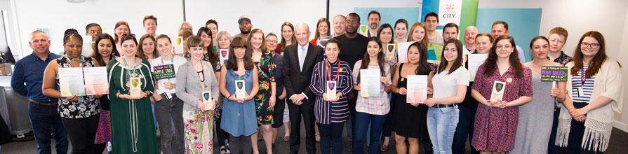 Sustainability Award winners hero