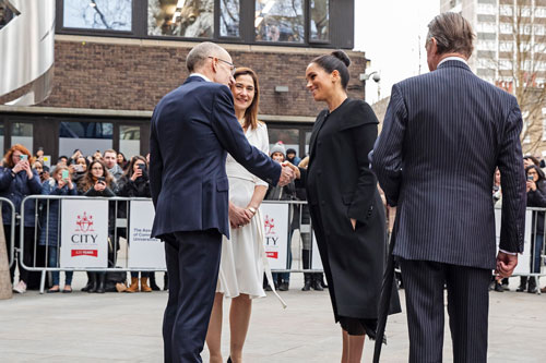 City hosts the Duchess of Sussex's first official visit as Patron of the ACU