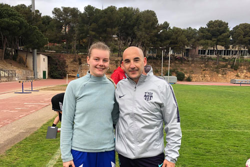 https://www.city.ac.uk/__data/assets/image/0008/461492/Karolina-Batistova-with-Barcelona-legend-Chapi-Ferrer.jpg