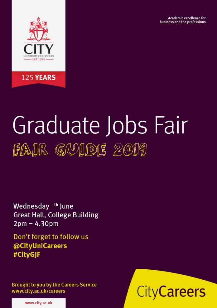Careers events | City, University of London
